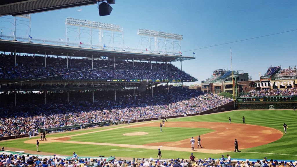 outdoor things to do in chicago - take in a ball game